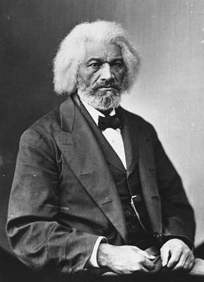 Photograph - Frederick Douglass by Library Of Congress