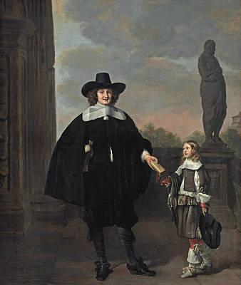 Painting - Frederick Van Velthuysen by Thomas de Keyser