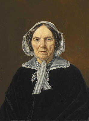 Painting - Frederikke Eleonora Cathrine Rorby by Martinus Rorbye