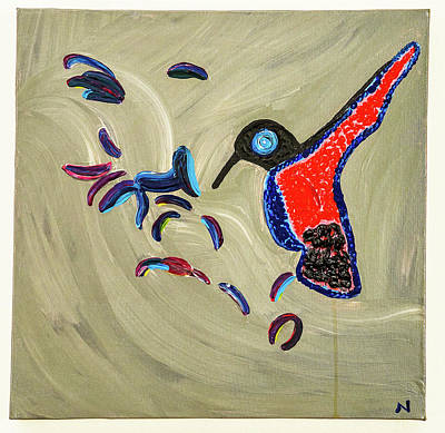Painting - Free As A Bird Now by Mirit Hendrickson