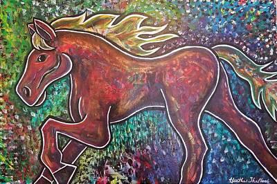 Painting - Freedom by Heather Shalhoub