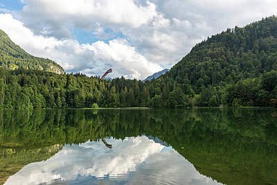 Photograph - Freibergsee by Andreas Levi