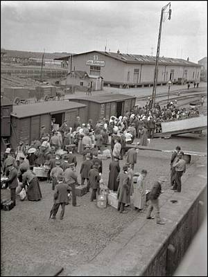 1-war Is Hell Royalty Free Images - Freight Office Freight Office in the harbor of Szczecin  Poland  1908 Royalty-Free Image by Celestial Images