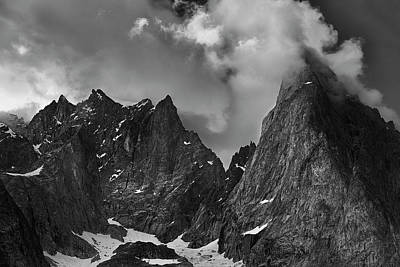 Photograph - French Alps Spires by Jon Glaser
