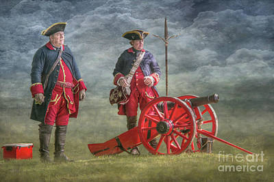 Digital Art - French Cannon Penns Colony by Randy Steele