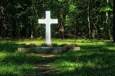 Photograph - French Cross by Jerry Gammon