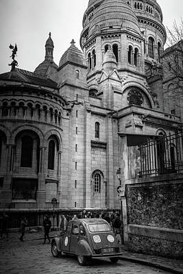 Photograph - French Icons - Sacre Coeur by Georgia Fowler