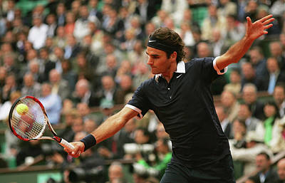 Photograph - French Open - Roland Garros 2008 Day by Matthew Stockman