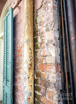 Photograph - French Quarter Details New Orleans by John Rizzuto