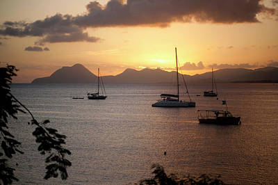 Antilles Photograph - French West Indies, Martinique, Seaside by Marie-reine Mattera
