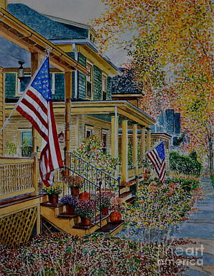 Painting - Frenchtown Street by Anthony Butera