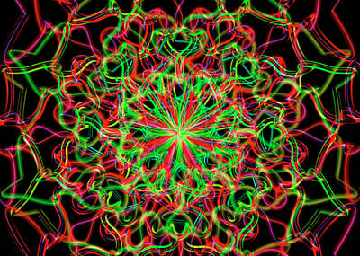 Digital Art - Frequency Remix by Vitaly Mishurovsky