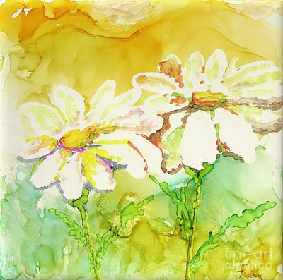 Painting - Fresh As Daisies by Lisa DuBois
