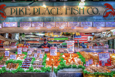 Photograph - Fresh Fish At The Market by Spencer McDonald