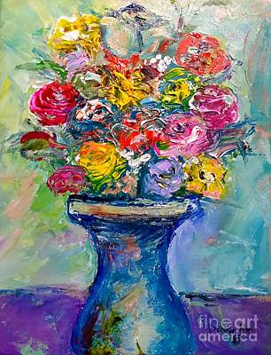Painting - Fresh Flowers by Deborah Nell