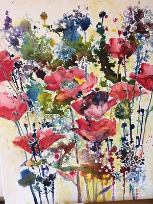 Painting - Fresh Poppies by Eric Fetsch