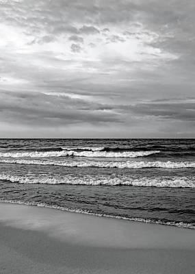 Photograph - Fresh Water Black And White by Kathi Mirto