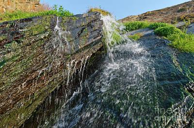Photograph - Fresh Waterfall In Amalia Beach by Angelo DeVal