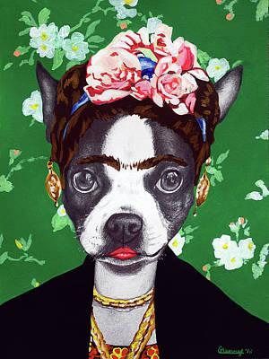 Mixed Media - Frida by Courtney Kenny Porto