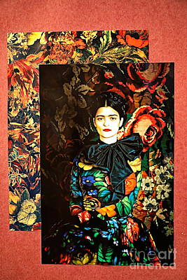 Photograph - Frida Kahlo Artistic Mexico  by Chuck Kuhn