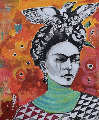 India Ink Wall Art - Painting - Fridom  by Jane Spakowsky