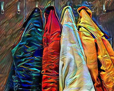 Digital Art - Friends by Pennie McCracken