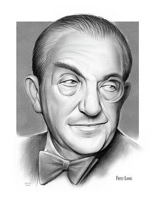 Drawing - Fritz Lang by Greg Joens
