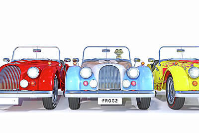 Comics Royalty-Free and Rights-Managed Images - Frogz by Betsy Knapp