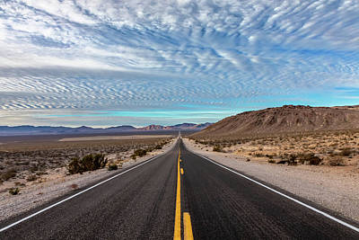 Photograph - From Nevada To California by Peter Tellone