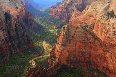 Photograph - From Observation Point by Raymond Salani III