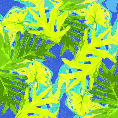 Digital Art - From The Tropics by Gina Harrison