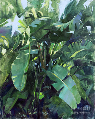 Painting - Fronds of Paradise by Patrick Saunders