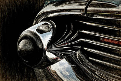 Digital Art - Front Bumper by Richard Farrington