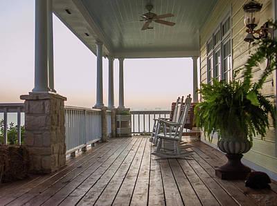 Polaroid Camera - Front Porch by James C Richardson