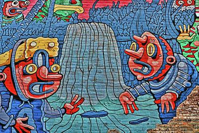 Photograph - Front Street Mural # 3 - Memphis by Allen Beatty