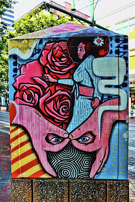 Photograph - Front Street Mural # 4 - Memphis by Allen Beatty