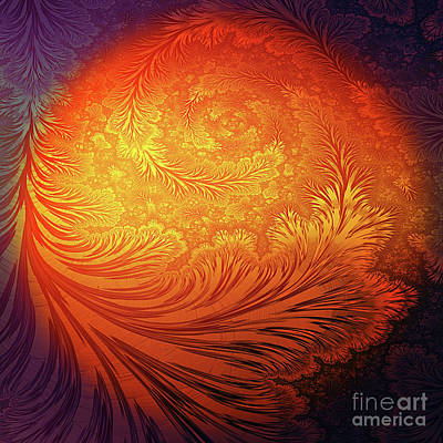 Fantasy Digital Art - Frost on the Sun by John Edwards