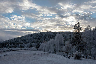 Photograph - Frosted Sunrise 2 by Brian Stricker