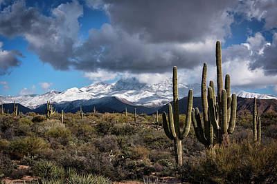Photograph - Frosting On Four Peaks  by Saija Lehtonen