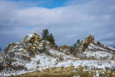 Photograph - Frosting On The Backbone by Jon Burch Photography