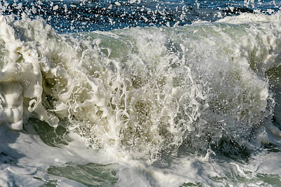 Photograph - Frothing Surf by Robert Potts