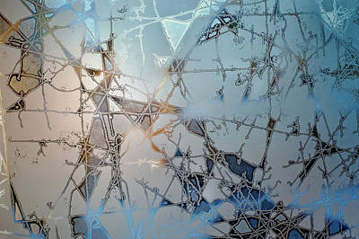 Fractal Wall Art - Photograph - Frozen City Of Ice by Scott Norris