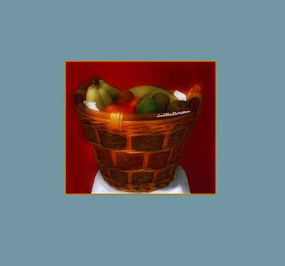 Digital Art - Fruit  Art 39 by Miss Pet Sitter