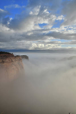 Photograph - Fruita Canyon Fully Engulfed In Fog by Ray Mathis