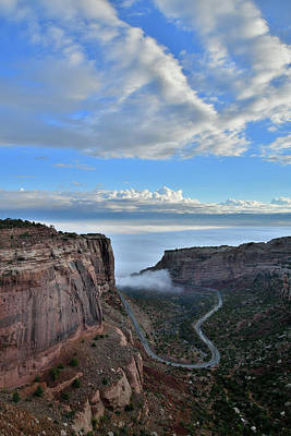 Photograph - Fruita Canyon In Colorado National Monument by Ray Mathis