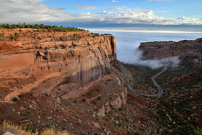 Photograph - Fruita Canyon Overlook In Colorado Nm by Ray Mathis