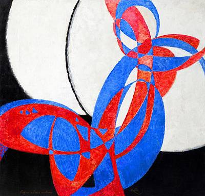 Featured Tapestry Designs - Fugue in Two Colors by Frantisek Kupka