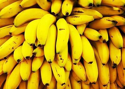 Full Frame Shot Of Yellow Bananas Art Print by Daisy De Los Angeles / Eyeem