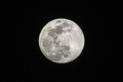 Photograph - Full Moon by Allin Sorenson