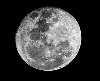 Photograph - Full Moon by Andrew Jk Tan
